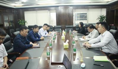 省国资委信息中心主任罗建明带队到联合资产进行工作调研
