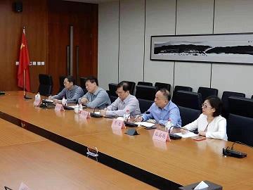 海南联合资产管理有限公司董事到业务合作单位进行考察调研