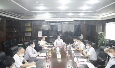 海南银行到联合资产公司洽谈业务合作