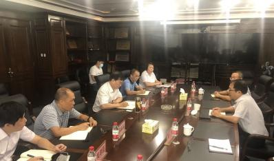 省金融监管局处长邢家铭带队到联合资产公司开展工作调研
