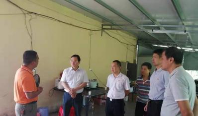 公司领导看望慰问驻村工作队队员